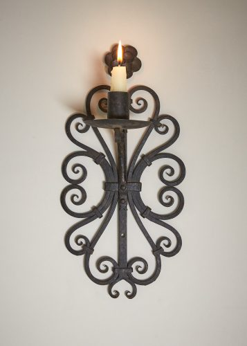 HL4326 – Wrought Iron Wall Candlesticks-0004
