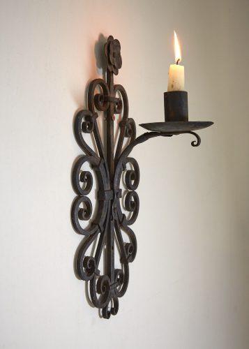 HL4326 – Wrought Iron Wall Candlesticks-0006