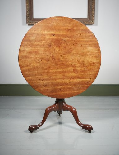 HL4374 – A George III Mahogany Tripod Table-0003