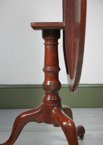 HL4374 – A George III Mahogany Tripod Table-0009