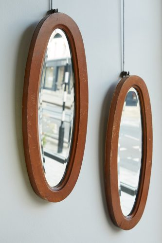 HL198 – Pair of Small Oval Mirrors-0008