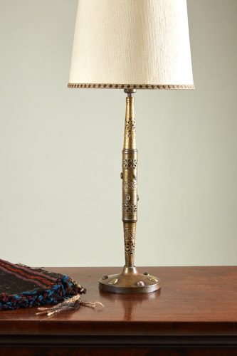 HL3666 – Tall rass Indian Lamp-0004