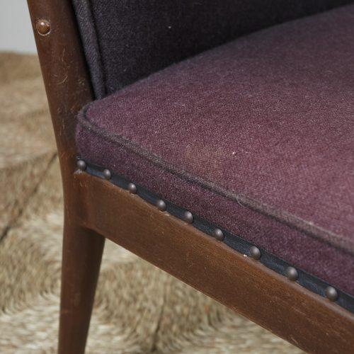 HL3907 – Danish Easy Chair brown fabric-0004