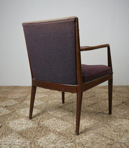 HL3907 – Danish Easy Chair brown fabric-0010