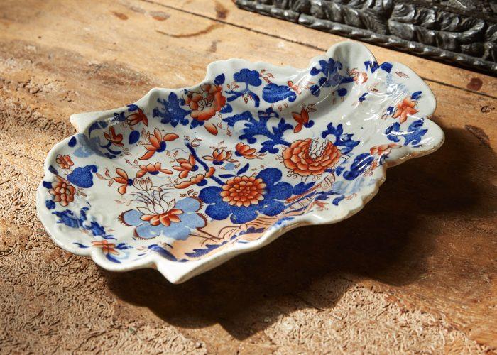 HL4410 – Ironstone Shell Shaped Dessert Dishes-0003