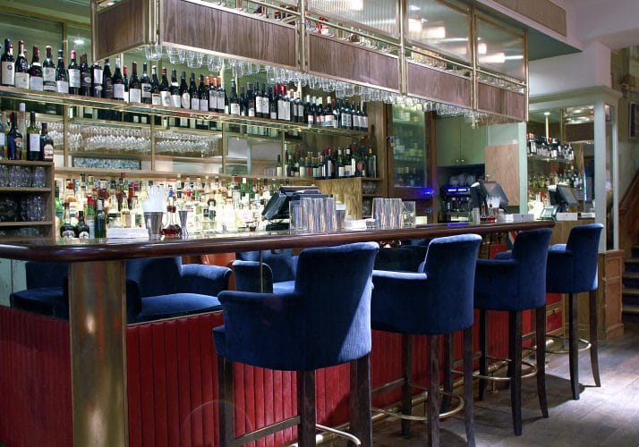Whippet Bar Stools in Groucho
