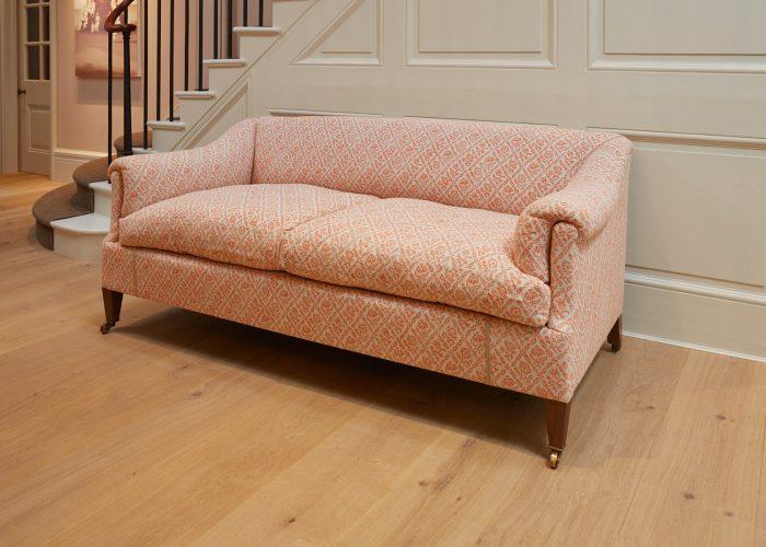 Orange-Pattern Den Sofa-0010
