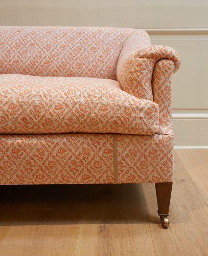 Orange-Pattern Den Sofa-0012