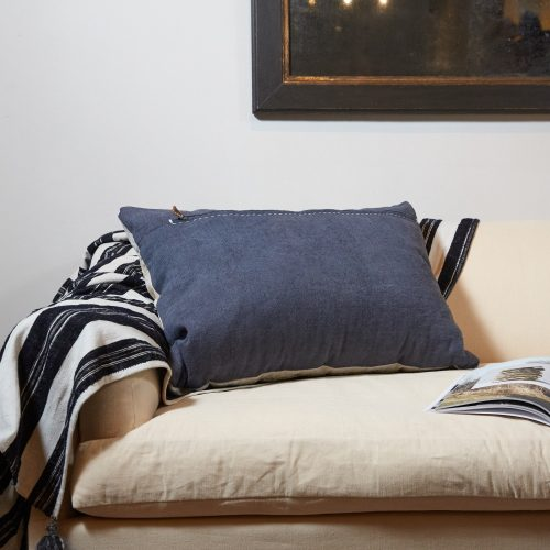 HB900257 – Antique Panelled Sailcloth Cushion-0003