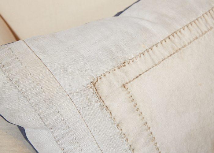 HB900257 – Antique Panelled Sailcloth Cushion-0006