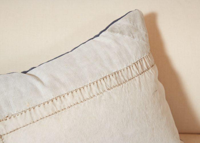 HB900257 – Antique Panelled Sailcloth Cushion-0007