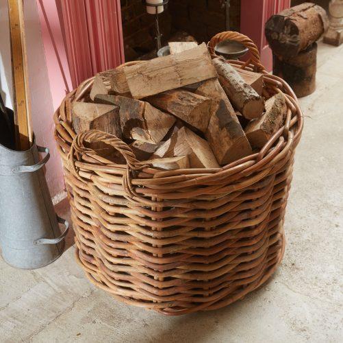 HH800036 – Round Log Basket-0005