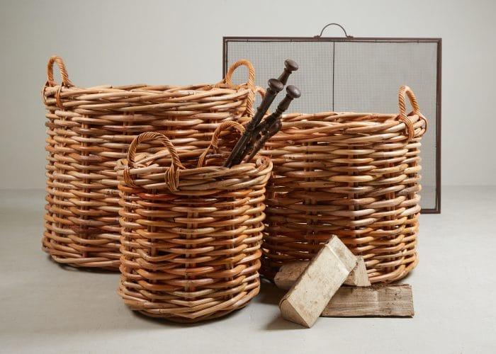 HH800036 – Round Log Baskets-0001