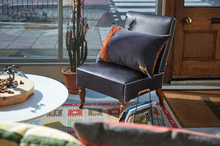 HB900264 – Vintage Caucasian Rug Pillow-0002