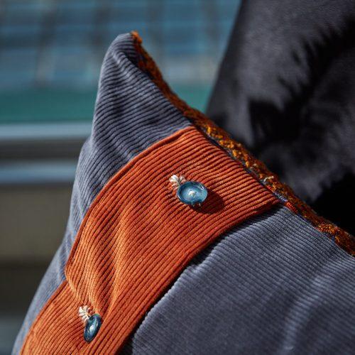HB900264 – Vintage Caucasian Rug Pillow-0006