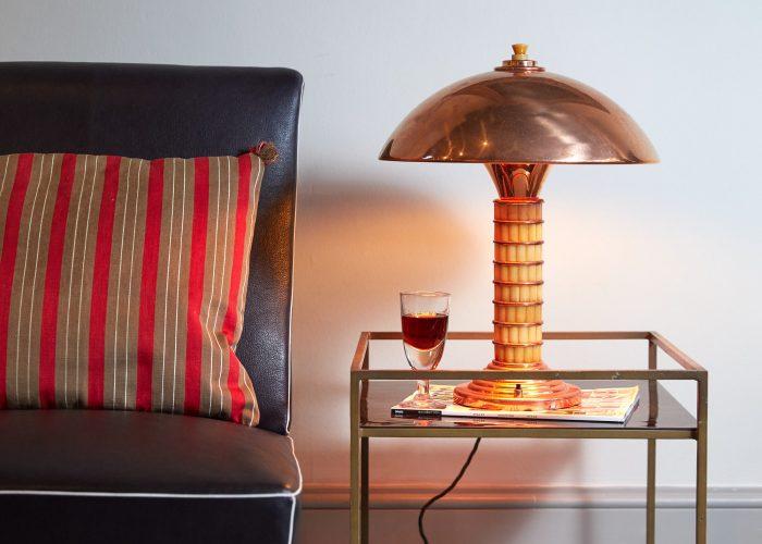 HL4527 – Art Deco Copper and Bakelite Lamp-0003