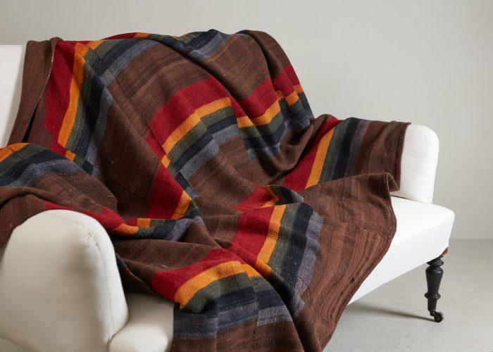 HL4570 – Tibetan Dolpo felted wool blanket-0003