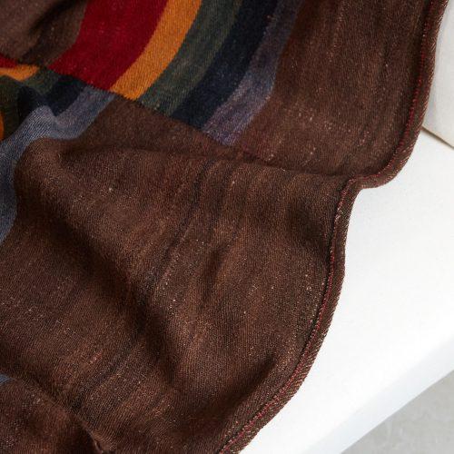 HL4570 – Tibetan Dolpo felted wool blanket-0005