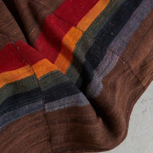 HL4570 – Tibetan Dolpo felted wool blanket-0007