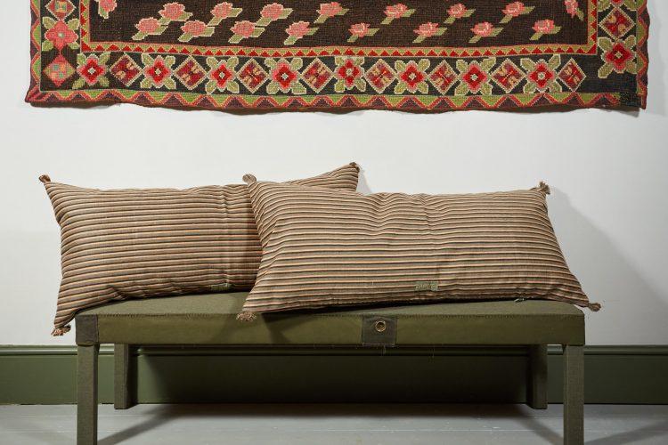 HB900297 – Swedish Ticking Cushion-0001