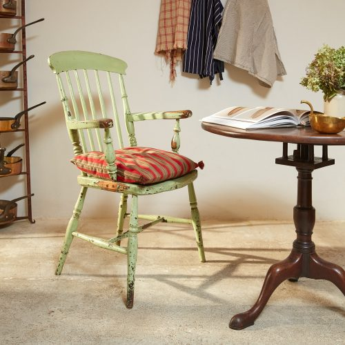 HL4526 – Green Windsor Armchair-0002