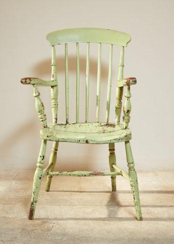 HL4526 – Green Windsor Armchair-0010