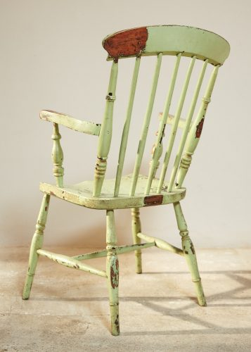HL4526 – Green Windsor Armchair-0011