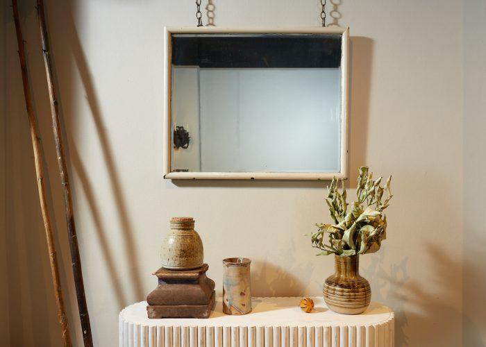 HL4560 – White Frame Mirror-0002