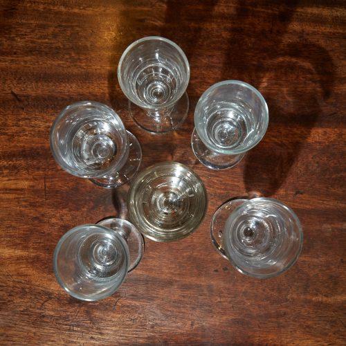 INC0668 – Six C19 Absinthe Glasses-0007