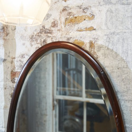 HL192 – Oval 1930s Mirror-0004