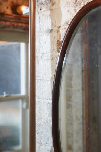 HL192 – Oval 1930s Mirror-0005