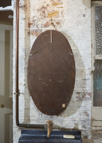 HL192 – Oval 1930s Mirror-0006