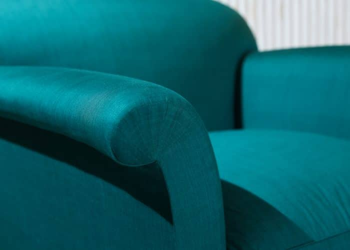 HL4409 – Armchair in Green Silky Cotton-0006 1