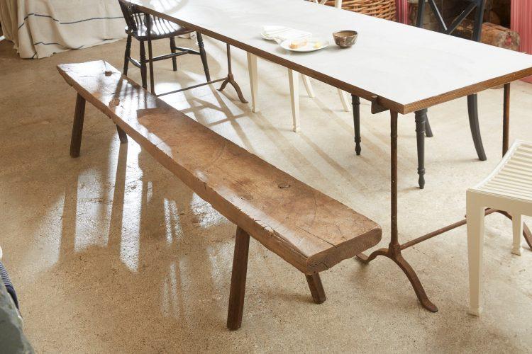 HL4468 – Long Oak Bench-0001