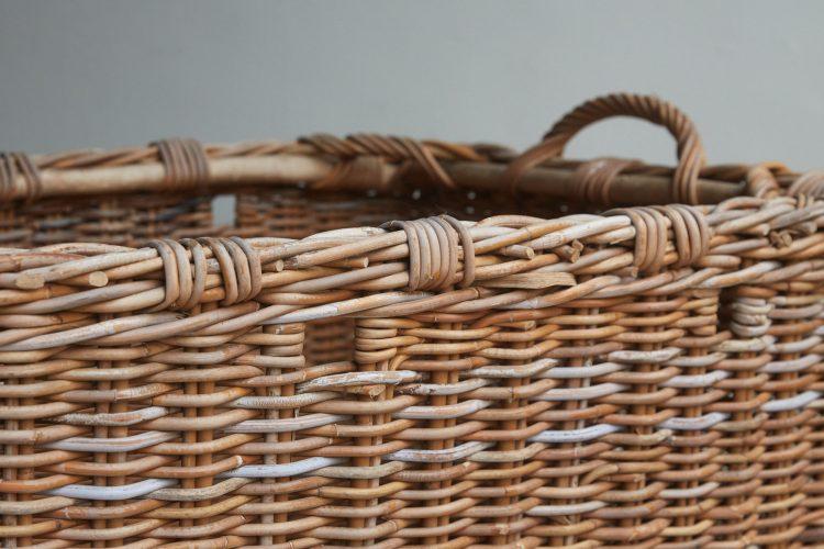 HL4644 – Large Wicker Log Basket-0009