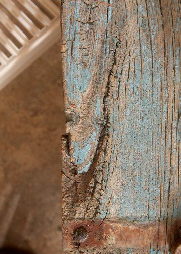 HL4680 – Trestle Table Painted Blue-0012