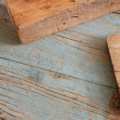 HL4680 – Trestle Table Painted Blue-0013