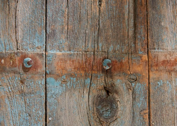 HL4680 – Trestle Table Painted Blue-0020