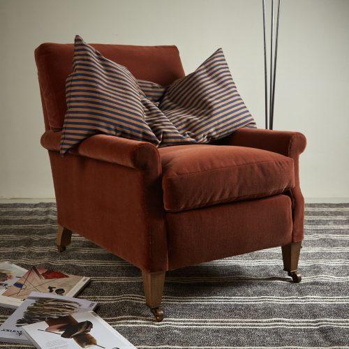 Spaniel Chair – Orange-0005