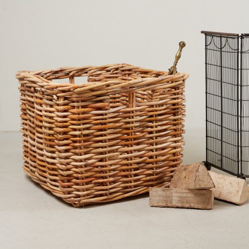 HB900274 – Medium Square Log Basket-0001