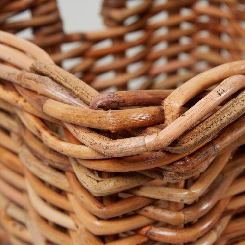 HB900275 – Small Square Log Basket-0004