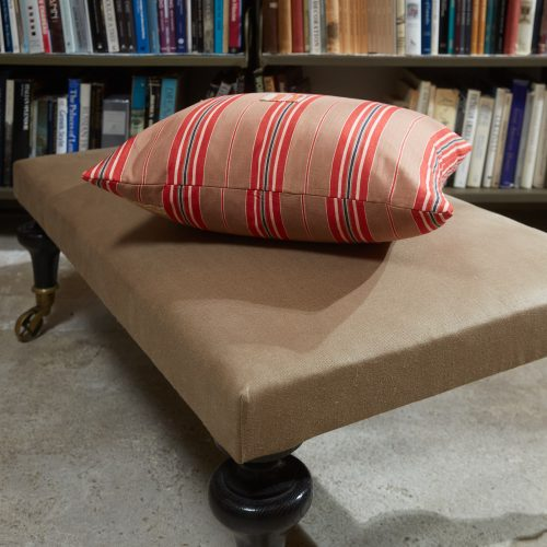 HB900322 – Ticking Cushion with Patches-0004