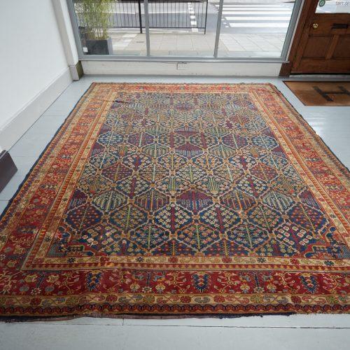 HL3702 – Antique Tabriz Carpet-0005