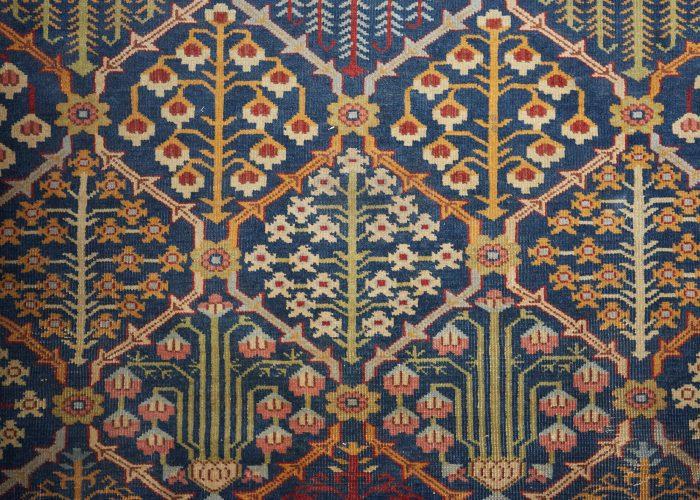 HL3702 – Antique Tabriz Carpet-0006