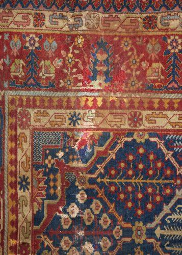 HL3702 – Antique Tabriz Carpet-0009