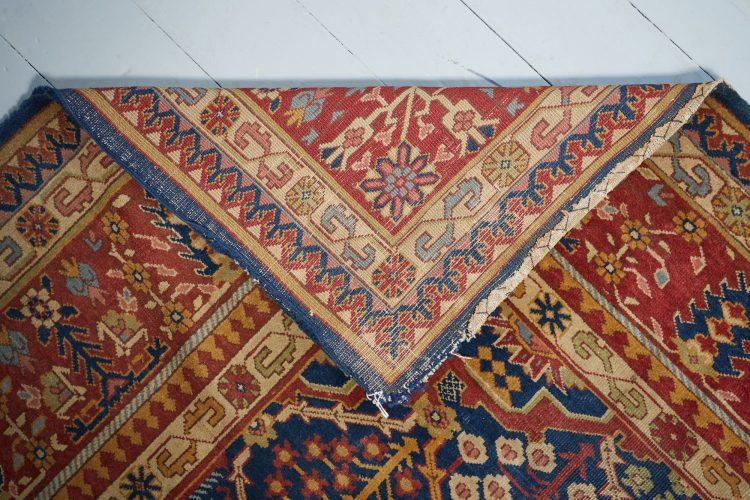 HL3702 – Antique Tabriz Carpet-0011