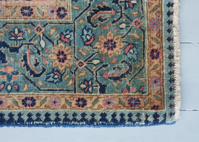 HL3940 – Antique Kashan Rug-0012