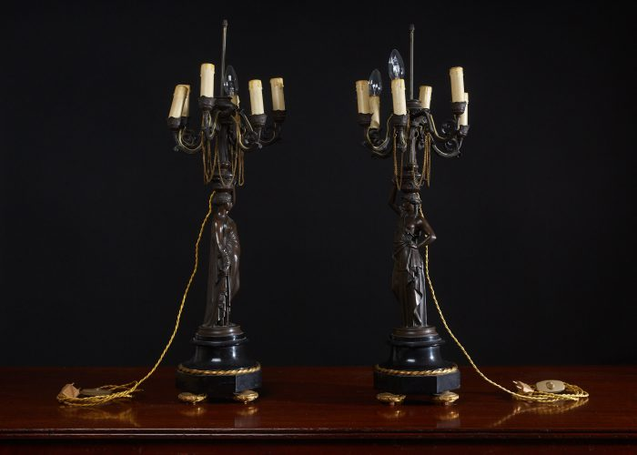 HL4634 – Bronze Lady Lamps-0023