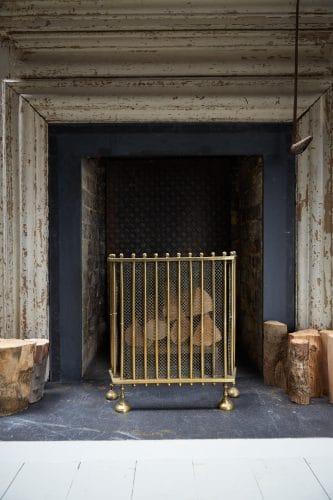HL4651 – Antique Brass Fire Guard-0012
