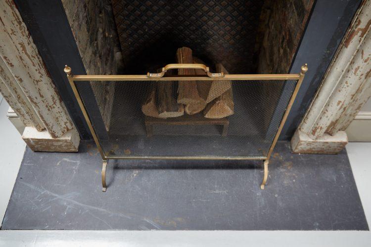 HL4673 – Antique Brass Fire Guard-0005